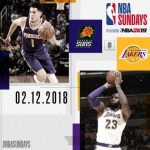 Lakers Vs  Suns Last Rating